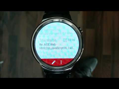 Mail client for Wear OS watchesスクリーンショット